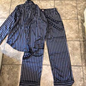 Victoria Secret satin pajama set